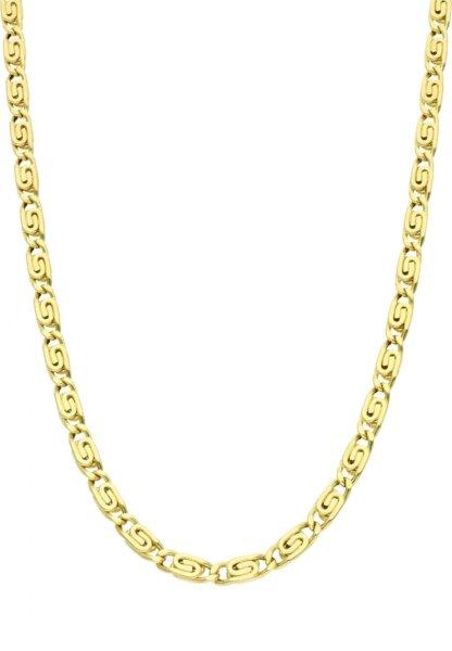 S-pancer łańcuszek złoty