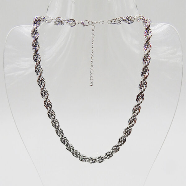 Kordel łańcuch o kształcie liny
