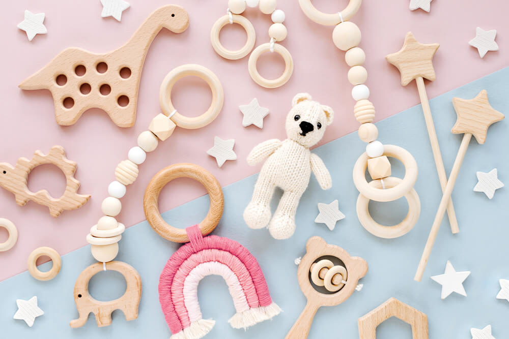 DIY dla niemowlaka — prezent dla malucha